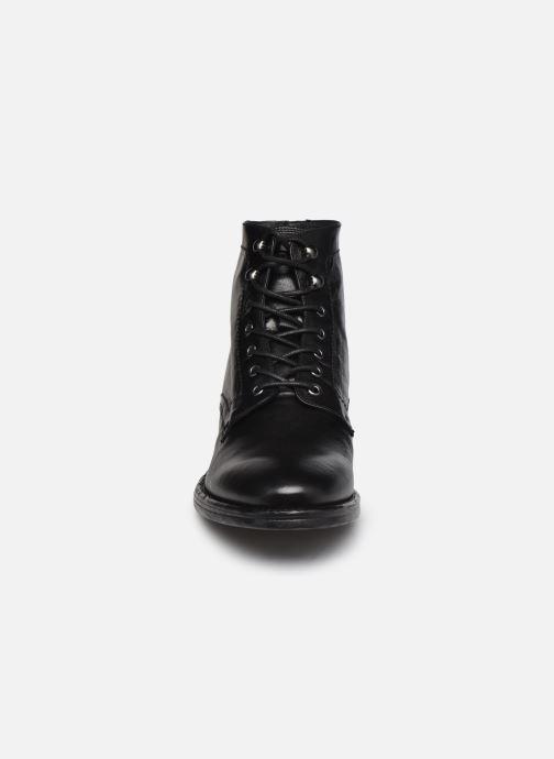 Bottines et boots Kost Militant67 Noir vue portées chaussures