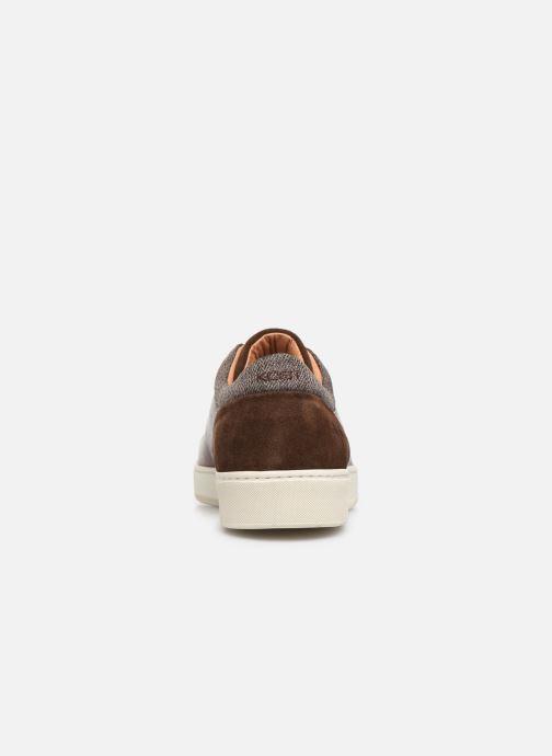 Sneakers Kost Fripon98 Marrone immagine destra