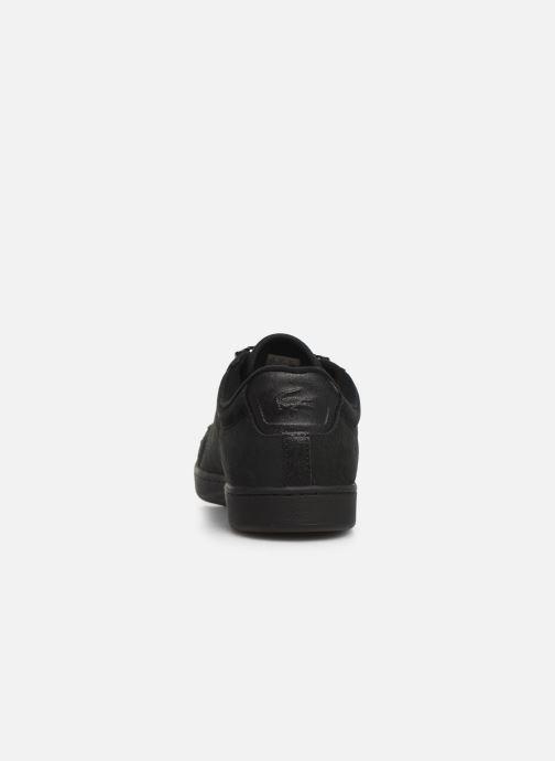 Sneaker Lacoste Carnaby Evo 319 6 SMA schwarz ansicht von rechts
