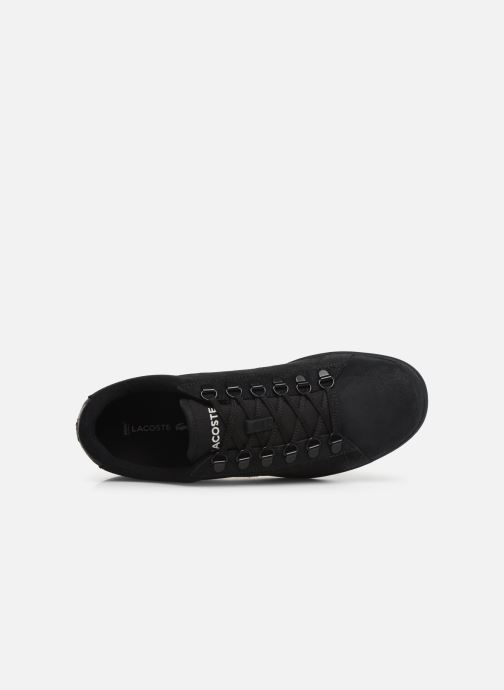 Sneaker Lacoste Carnaby Evo 319 6 SMA schwarz ansicht von links