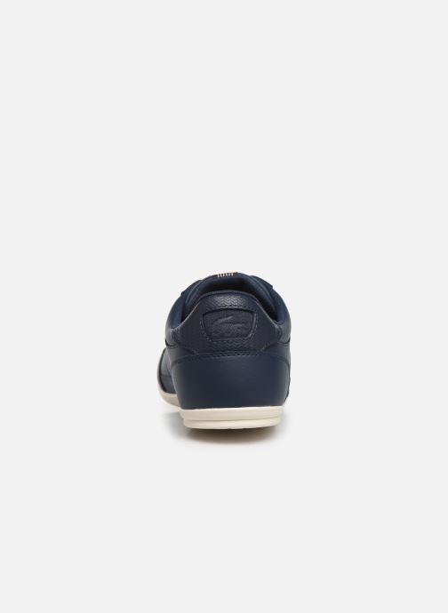 Baskets Lacoste Chaymon 319 1 CMA Bleu vue droite