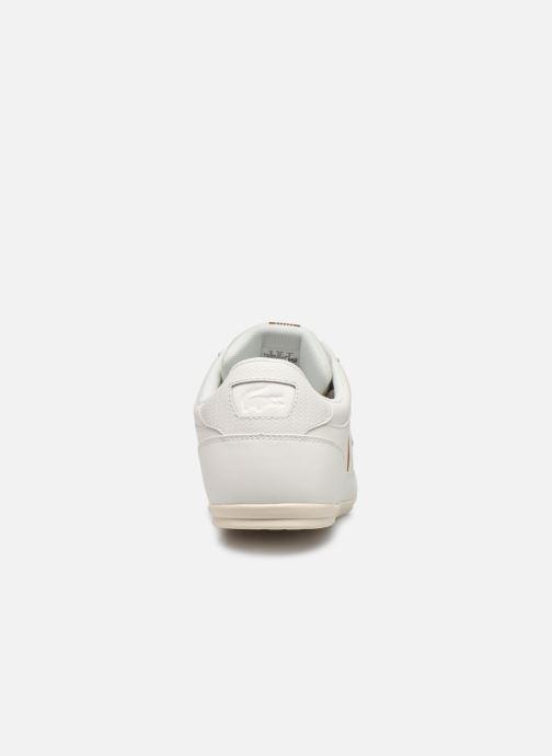Baskets Lacoste Chaymon 319 1 CMA Blanc vue droite