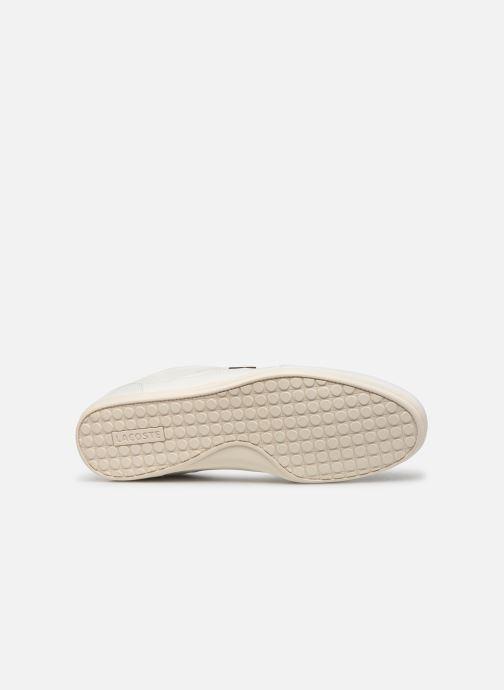 Baskets Lacoste Chaymon 319 1 CMA Blanc vue haut