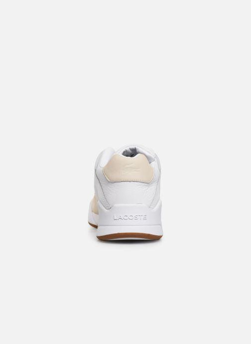 Baskets Lacoste Court Slam 319 1 SMA Blanc vue droite