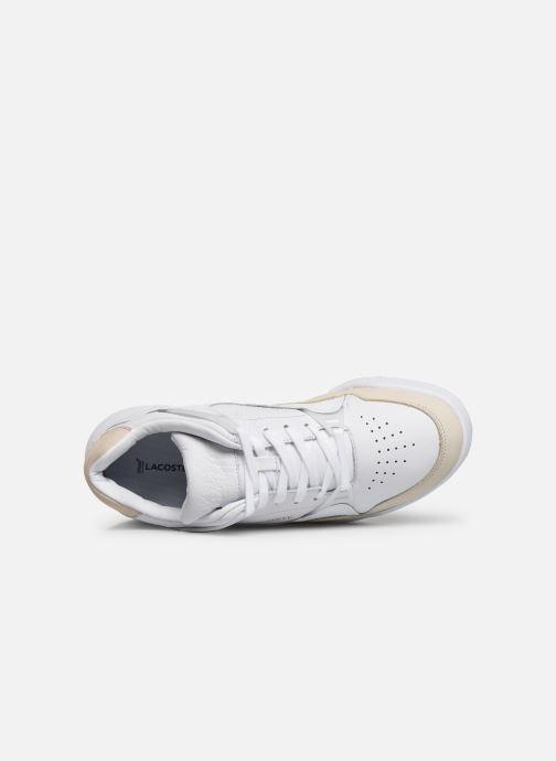 Baskets Lacoste Court Slam 319 1 SMA Blanc vue gauche