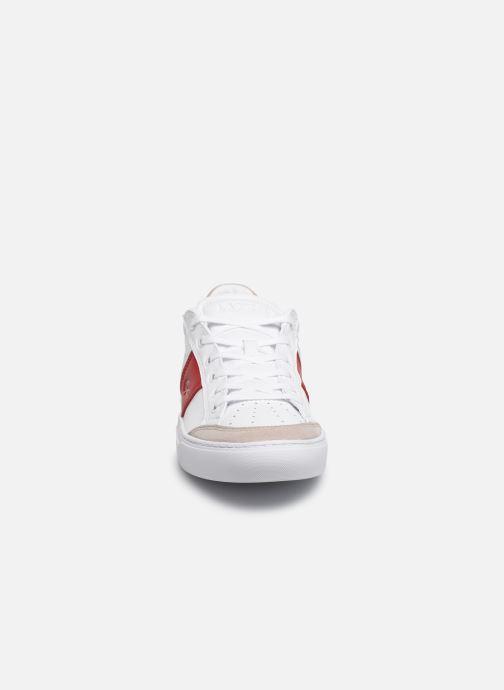 Baskets Lacoste Courtline 319 1 US CMA Blanc vue portées chaussures