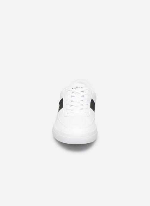 Baskets Lacoste Court-Master 319 6 CMA Blanc vue portées chaussures
