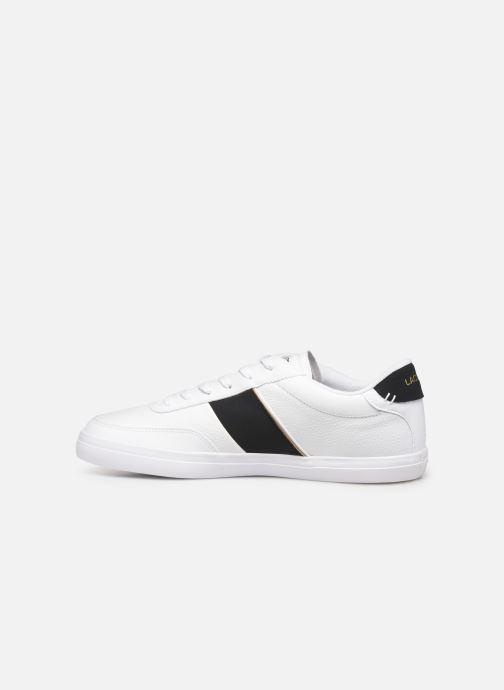 Sneaker Lacoste Court-Master 319 6 CMA weiß ansicht von vorne