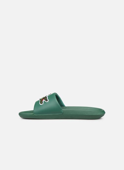 Sandals Lacoste Croco Slide 319 4 US CMA Green front view