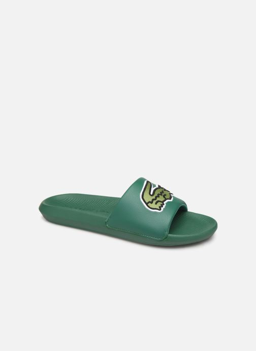 Sandals Lacoste Croco Slide 319 4 US CMA Green detailed view/ Pair view