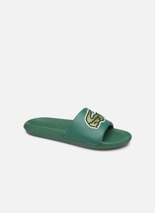Sandalias Lacoste Croco Slide 319 4 US CMA Verde vista de detalle / par