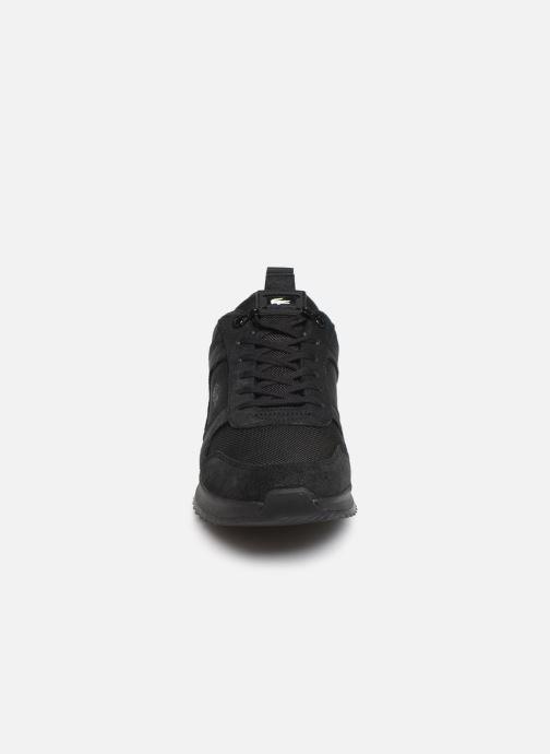 Sneaker Lacoste Joggeur 2.0 319 3 SMA schwarz schuhe getragen
