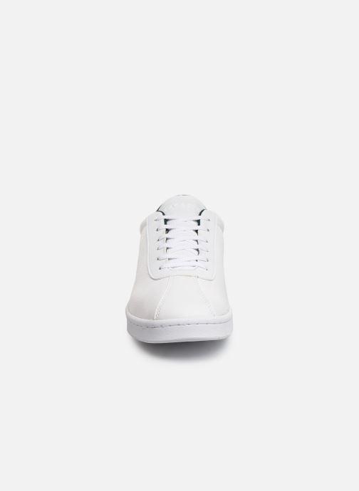Baskets Lacoste Masters 319 1 SMA Blanc vue portées chaussures
