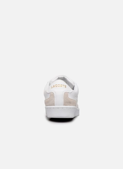 Baskets Lacoste Masters Cup 319 1 SMA Blanc vue droite