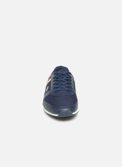 Sneaker Lacoste Menerva Sport 319 1 CMA blau schuhe getragen