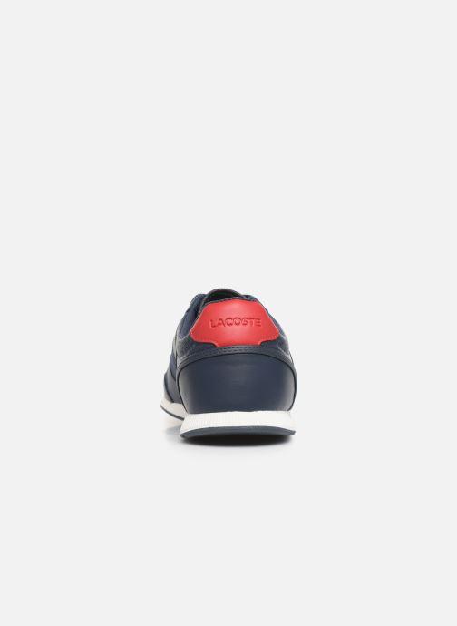 Sneaker Lacoste Menerva Sport 319 1 CMA blau ansicht von rechts