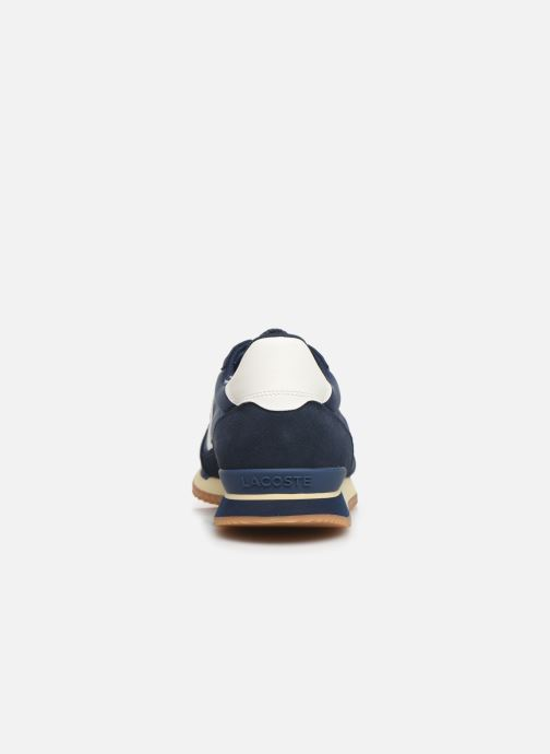 Trainers Lacoste Partner Retro 319 1 SMA Blue view from the right