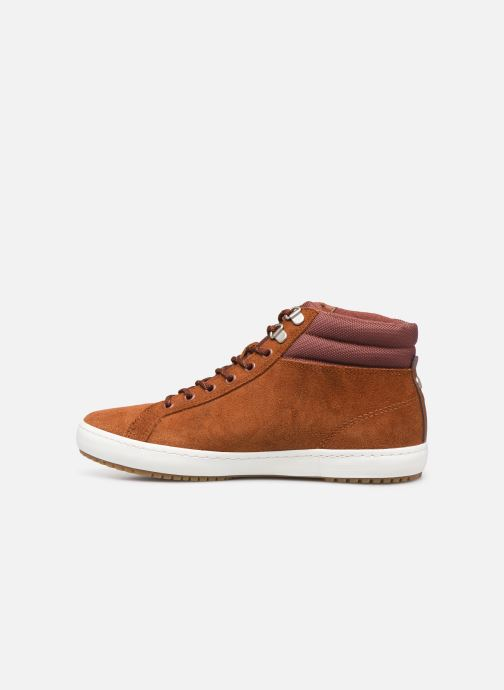 Baskets Lacoste Straight Set Insulac 319 1 CMA Marron vue face