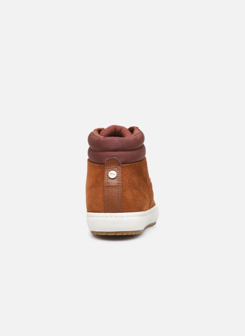 Baskets Lacoste Straight Set Insulac 319 1 CMA Marron vue droite
