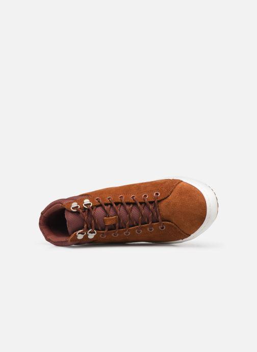 Sneaker Lacoste Straight Set Insulac 319 1 CMA braun ansicht von links