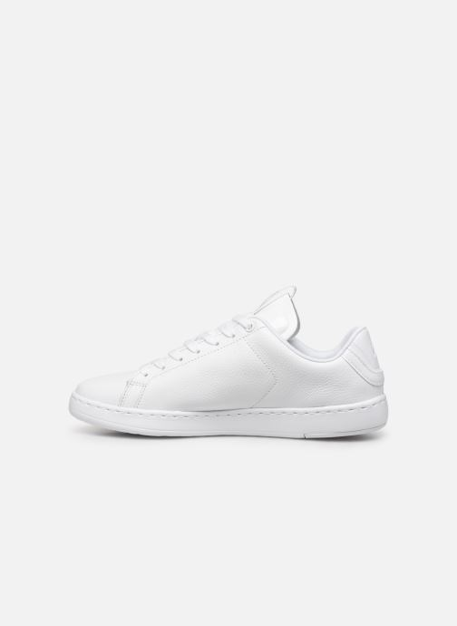 Baskets Lacoste Carnaby Light-Wt 319 1 SFA Blanc vue face