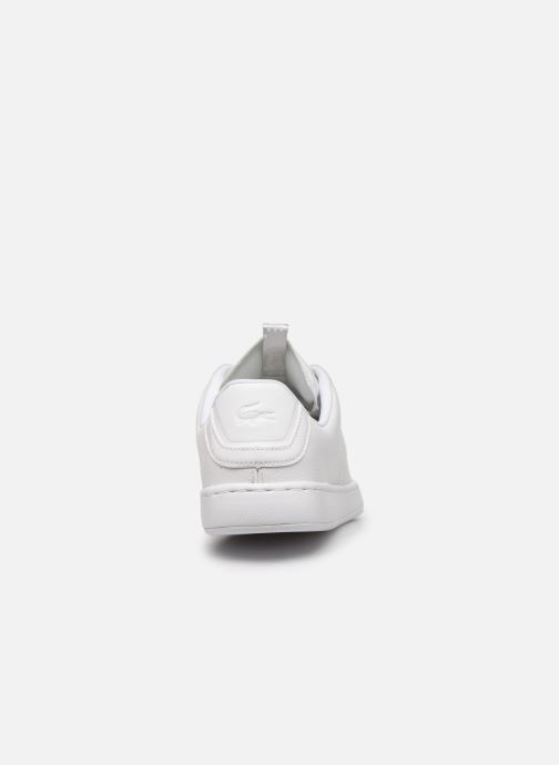Baskets Lacoste Carnaby Light-Wt 319 1 SFA Blanc vue droite