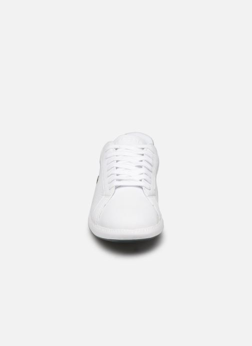 Sneaker Lacoste Graduate 319 1 SFA weiß schuhe getragen