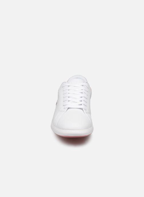 Baskets Lacoste Graduate 319 1 SFA Blanc vue portées chaussures