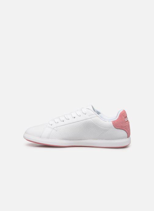 Sneakers Lacoste Graduate 319 1 SFA Wit voorkant
