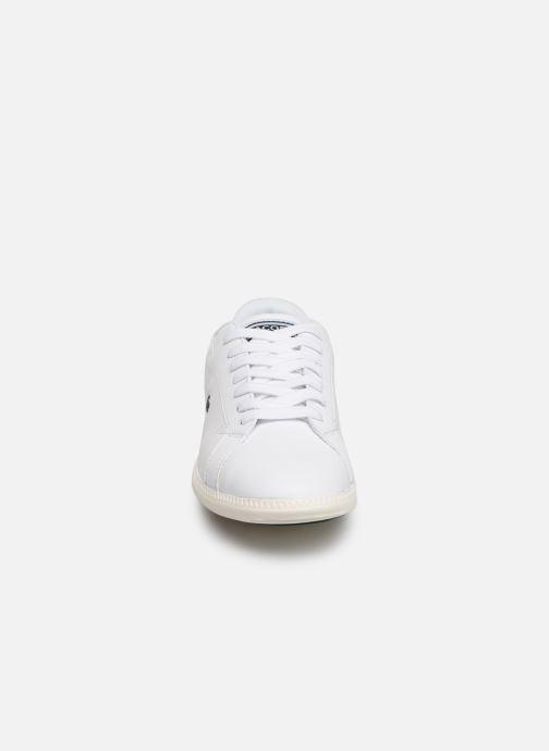 Baskets Lacoste Graduate 319 2 SFA Blanc vue portées chaussures