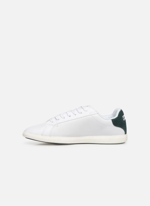 Sneaker Lacoste Graduate 319 2 SFA weiß ansicht von vorne