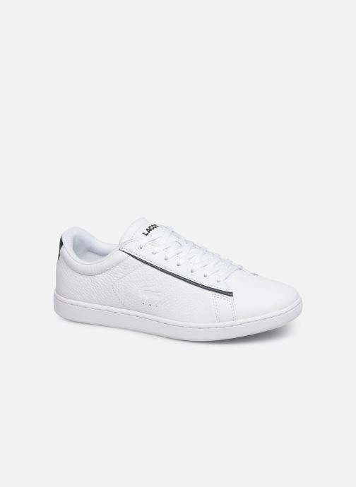 Baskets Lacoste Carnaby Evo 319 9 SFA Blanc vue détail/paire