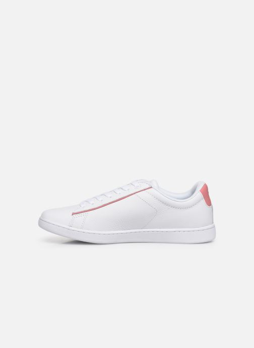 Baskets Lacoste Carnaby Evo 319 9 SFA Blanc vue face
