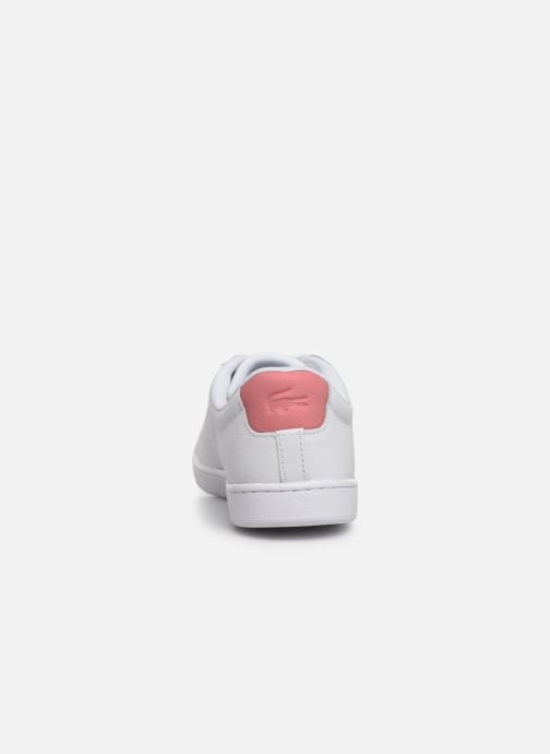 Baskets Lacoste Carnaby Evo 319 9 SFA Blanc vue droite