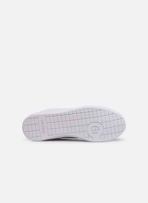 Baskets Lacoste Carnaby Evo 319 9 SFA Blanc vue haut