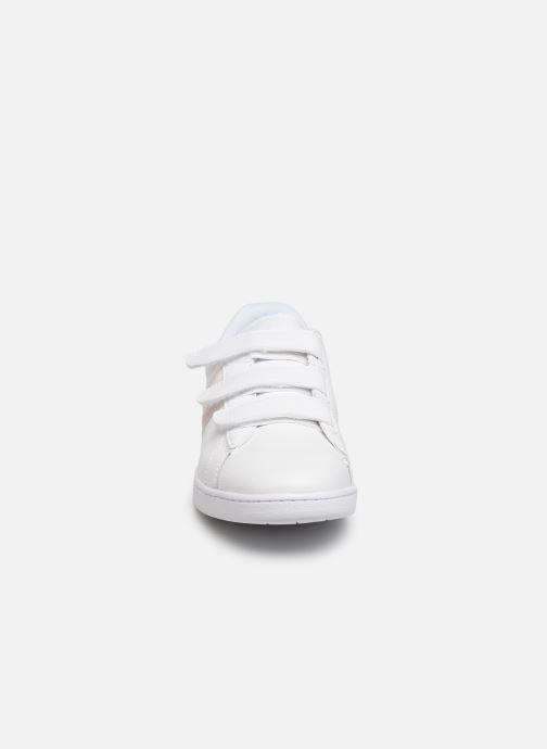 Sneaker Lacoste Carnaby Evo Strap 319 1 SFA weiß schuhe getragen