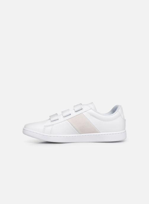 Sneaker Lacoste Carnaby Evo Strap 319 1 SFA weiß ansicht von vorne