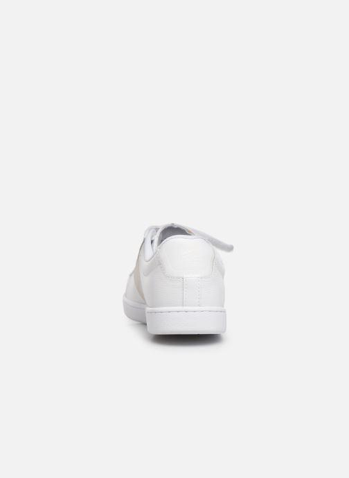 Baskets Lacoste Carnaby Evo Strap 319 1 SFA Blanc vue droite