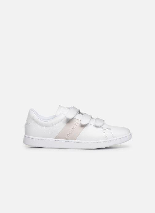 Sneaker Lacoste Carnaby Evo Strap 319 1 SFA weiß ansicht von hinten