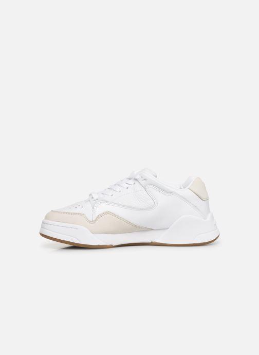Baskets Lacoste Court Slam 319 1 SFA Blanc vue face