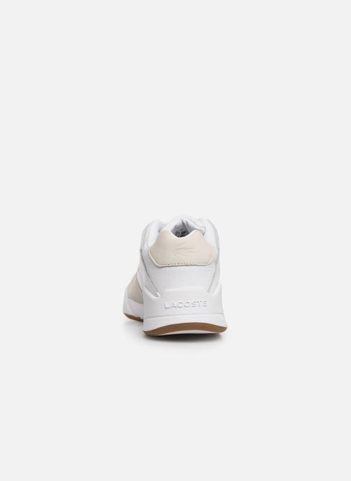 Baskets Lacoste Court Slam 319 1 SFA Blanc vue droite