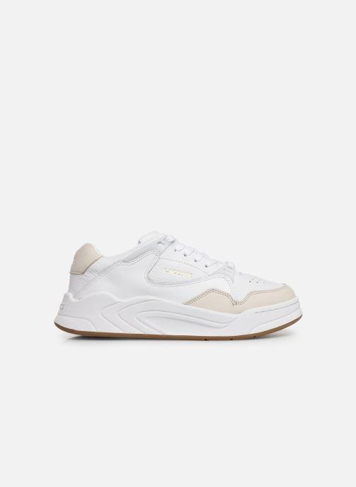 Baskets Lacoste Court Slam 319 1 SFA Blanc vue derrière