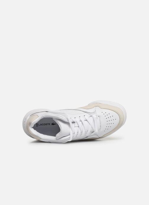 Baskets Lacoste Court Slam 319 1 SFA Blanc vue gauche