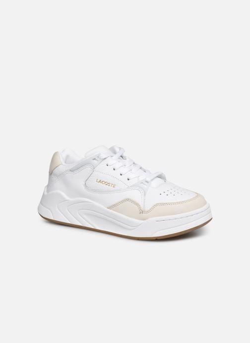 Baskets Lacoste Court Slam 319 1 SFA Blanc vue détail/paire