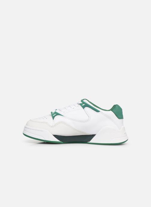 Sneaker Lacoste Court Slam 319 3 SFA weiß ansicht von vorne