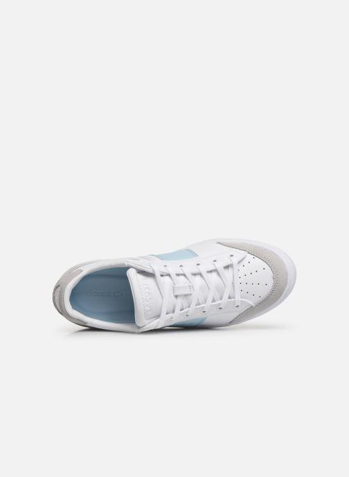 Baskets Lacoste Courtline 319 1 US CFA Blanc vue gauche
