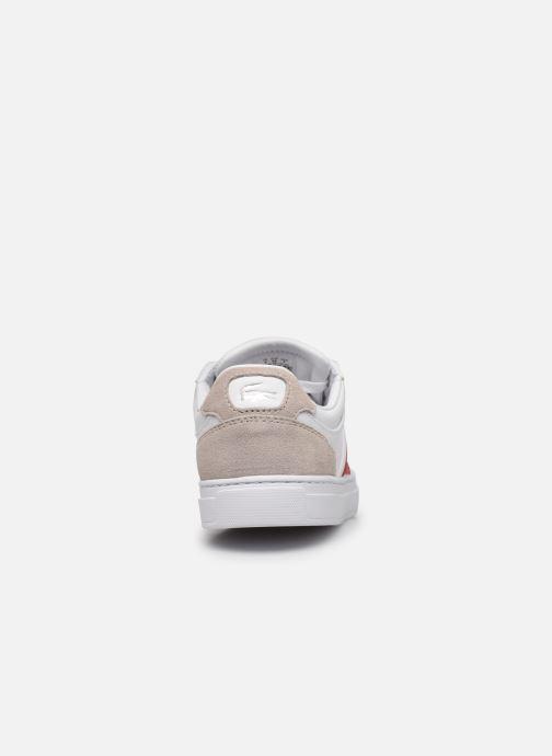 Sneakers Lacoste Courtline 319 1 US CFA Wit rechts