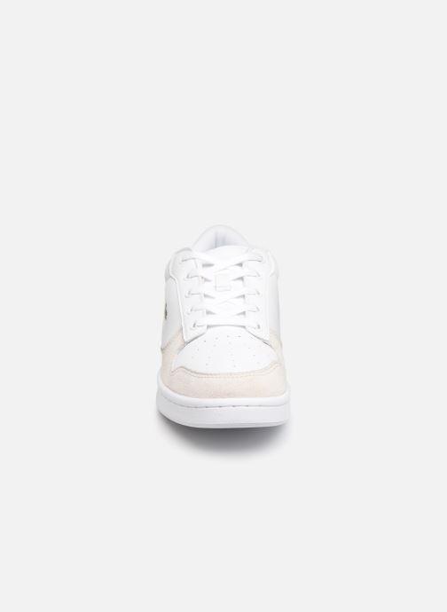 Baskets Lacoste Masters Cup 319 1 SFA Blanc vue portées chaussures