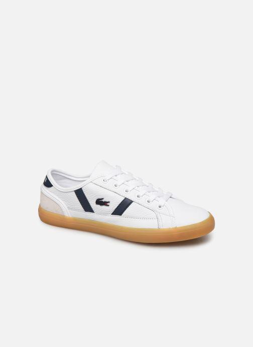 Baskets Lacoste Sideline 319 1 CFA Blanc vue détail/paire