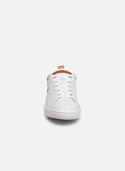 Baskets Lacoste Straight Set 319 1 CFA Blanc vue portées chaussures